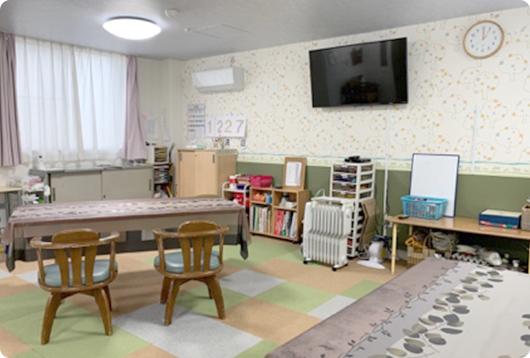 「生活介護クローバー」の部屋